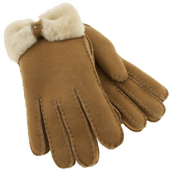 Accessories Ugg Australia Tan Classic Bow Apparel