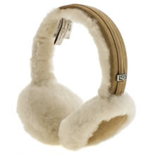 Ugg Australia Tan Classic Wired Headphones Apparel