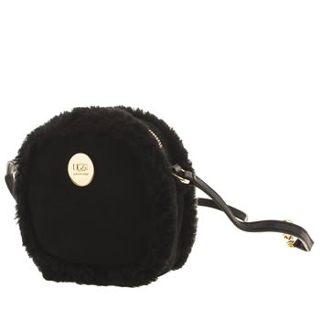 Accessories Ugg Australia Black Bailey Bow Box Zip Bags