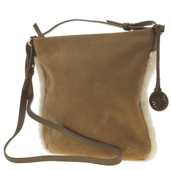Accessories Ugg Australia Tan Ayden Crossbody Bags