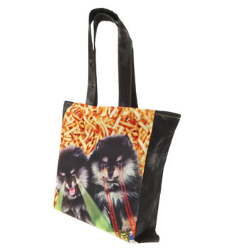 Tigerbear Republik Black & Grey Deep Space Pomme Bags