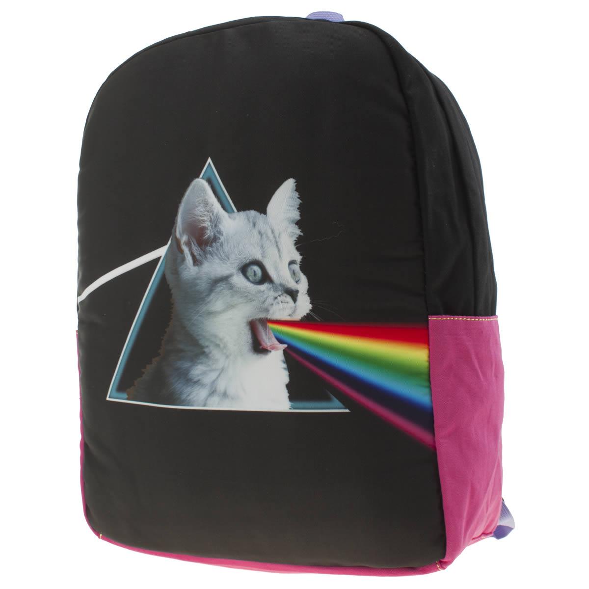 tigerbear republik Tigerbear Republik Black & Pink Screaming Kitty Bags