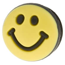 Yellow Jibbitz Happyface