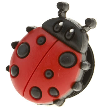 accessories jibbitz red ladybug