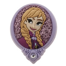 Jibbitz Blue Frozen Anna Badge Shoe Accessories