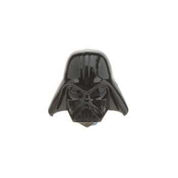 Accessories Jibbitz Black Darth Vader Helmet Shoe Accessories