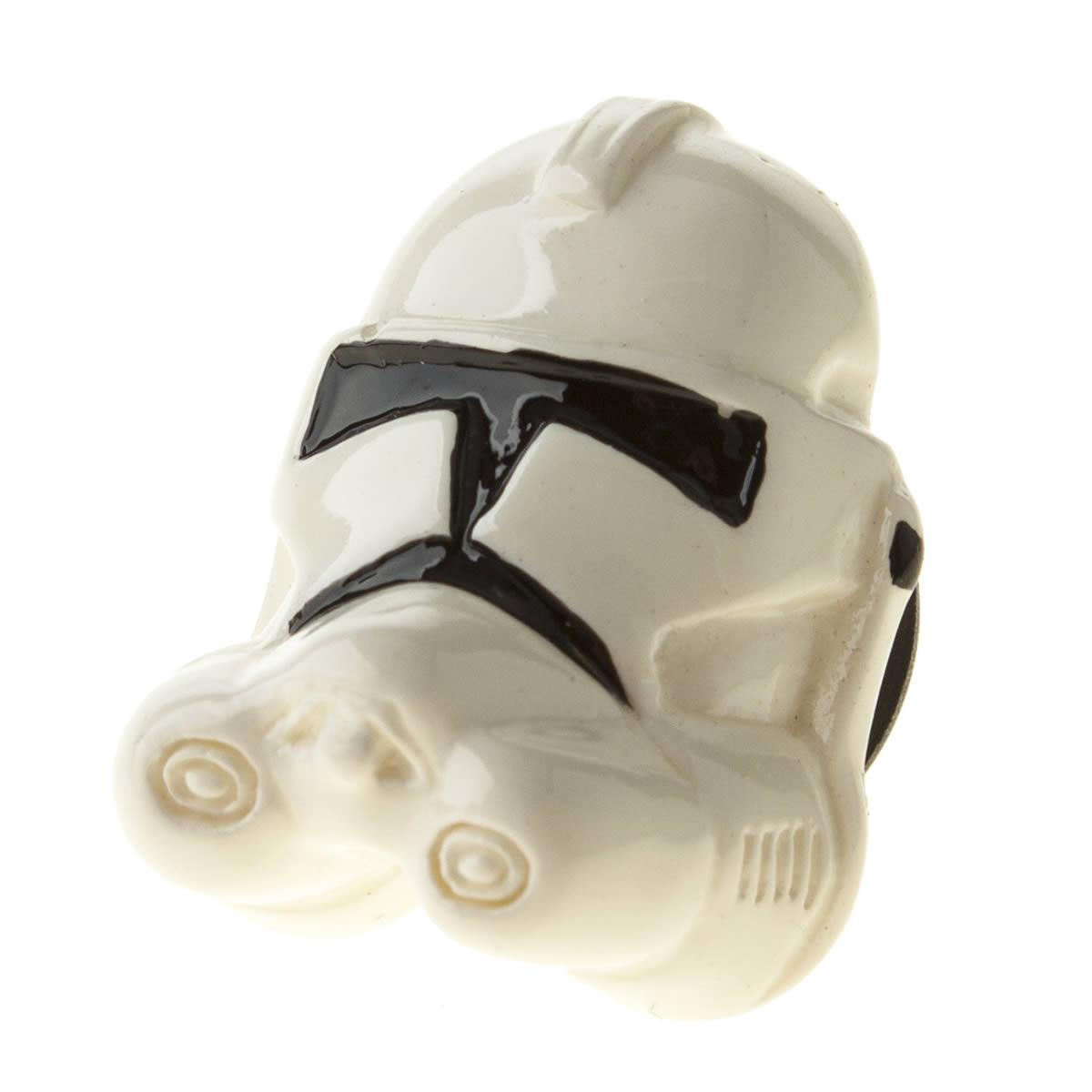 jibbitz Jibbitz White & Black Storm Trooper Shoe Accessories