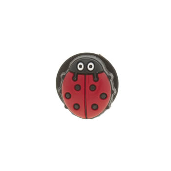 Accessories Jibbitz Red Ladybug Shoe Accessories