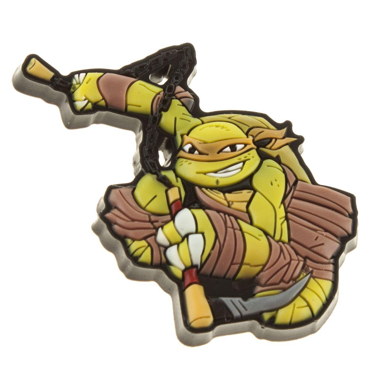 jibbitz Jibbitz Green Ninja Turtles Michelangelo Shoe Accessories