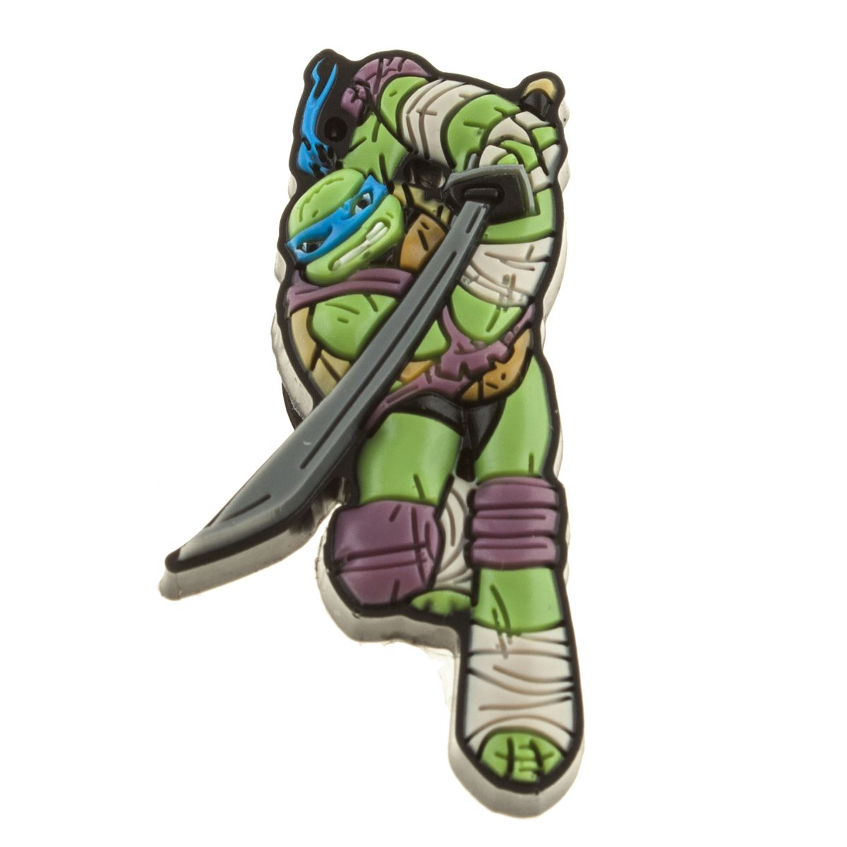 jibbitz Jibbitz Dark Green Ninja Turtles Leonardo Shoe Accessories