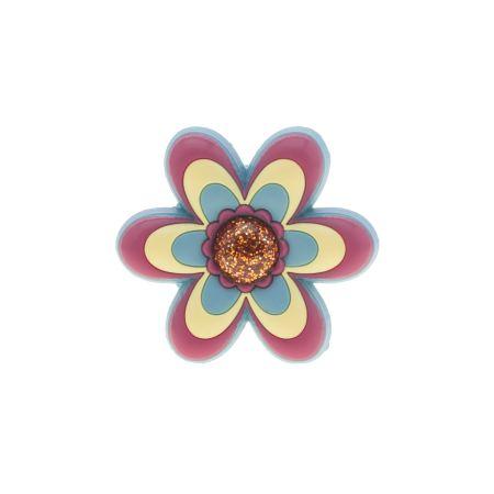 jibbitz large pink flower 1