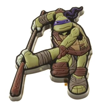 ACCESSORIES JIBBITZ DARK GREEN NINJA TURTLES DONATELLO