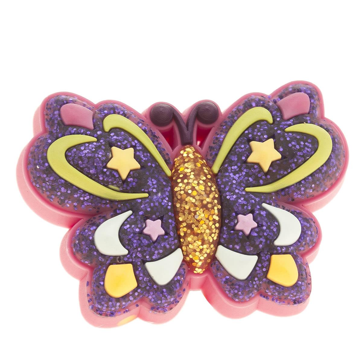 jibbitz Jibbitz Multi Glitzy Star Butterfly Shoe Accessories