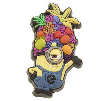 Jibbitz Yellow Minions Stuart Fruit Shoe Accessories