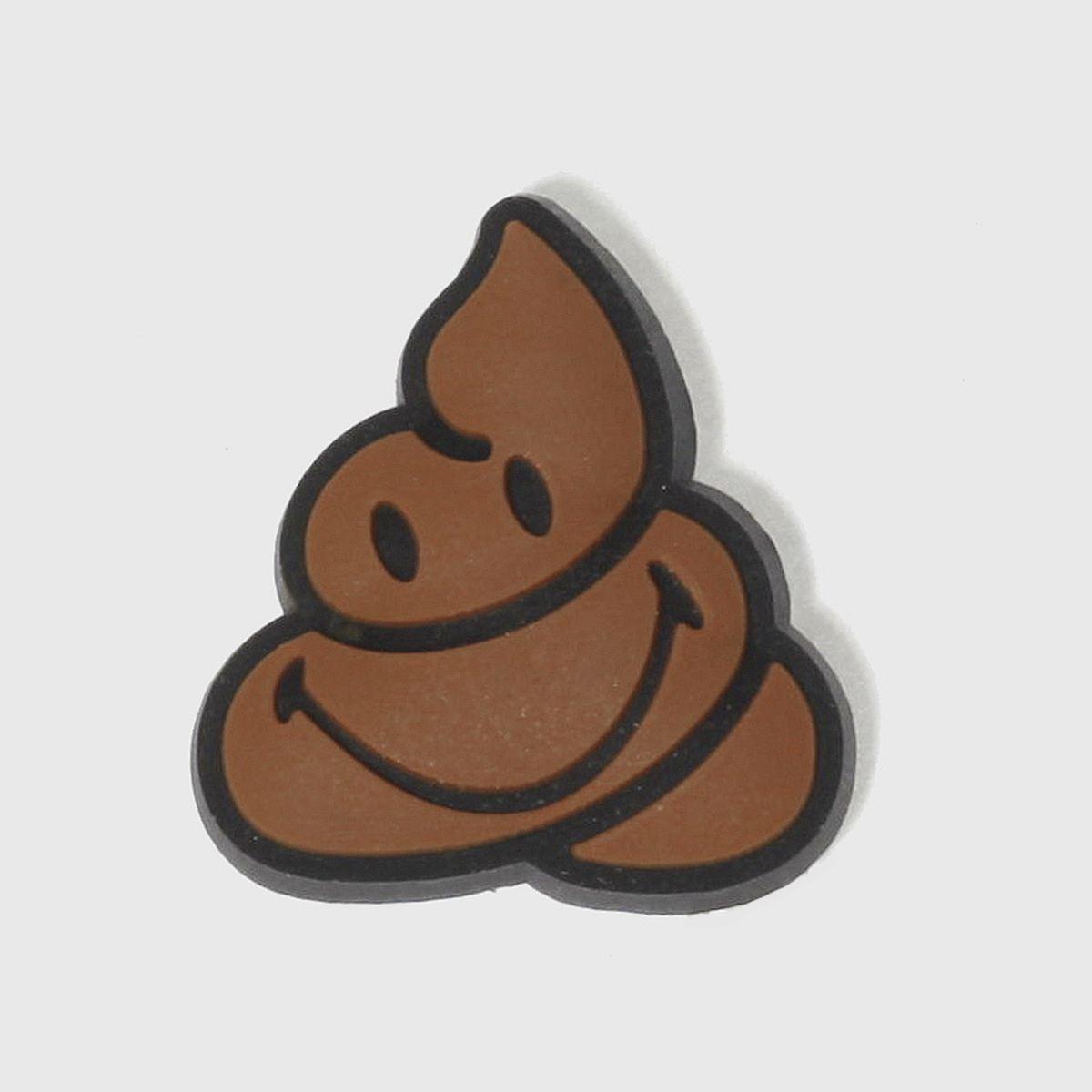 jibbitz Jibbitz Brown Smiley Chocolate Face