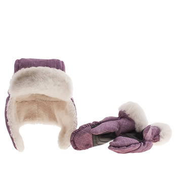 Ugg Australia Pink Adirondack Boxed Set Caps and Hats