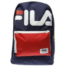 Fila Navy & Red Piazzo Bags