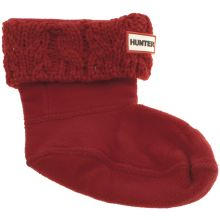 Hunter Red Kids Dual Knit Socks