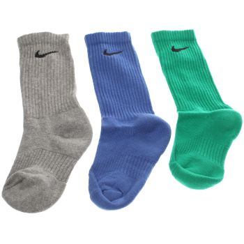 ACCESSORIES NIKE MULTI KIDS COTTON CREW SOCK 3 PACK