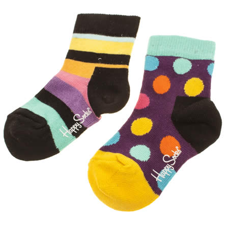 happy socks kids 2 pack 1