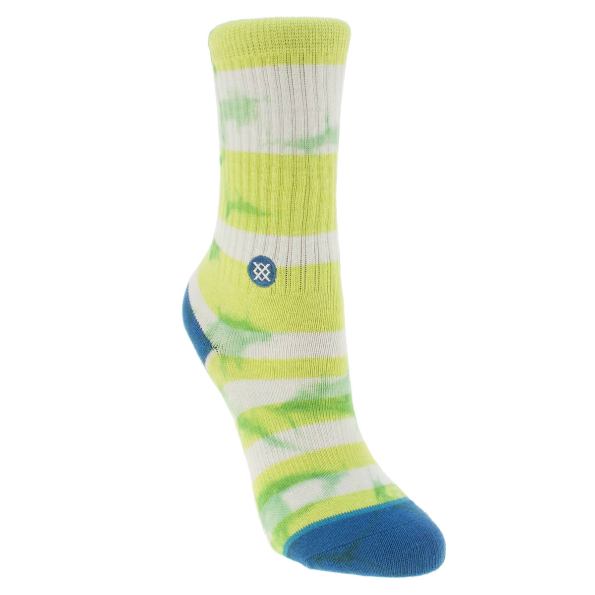 Photo of Stance white & green kids hazard socks