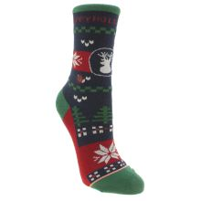 Stance Navy & Red Kids Holidayze Socks