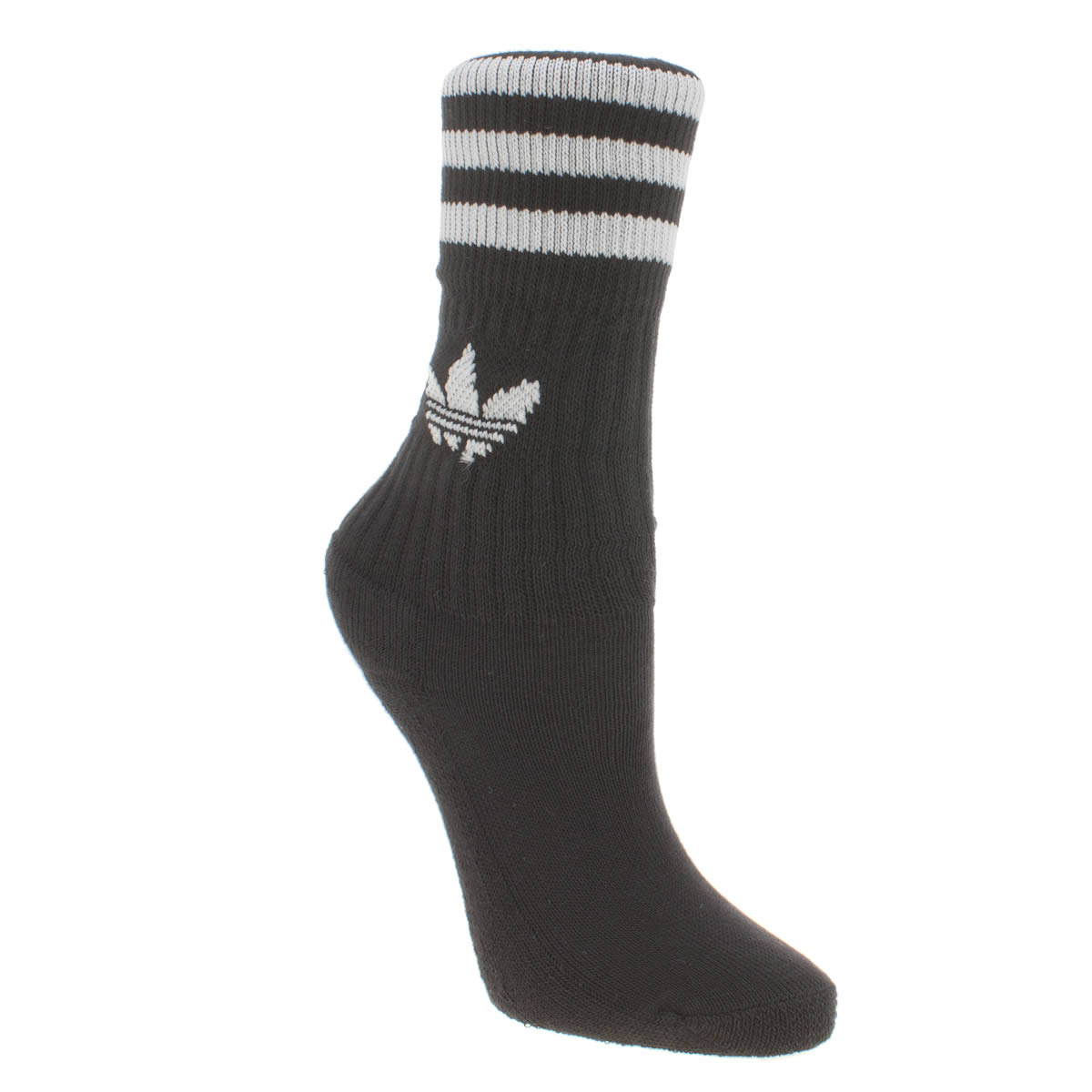 Photo of Adidas black & white kids solid crew 3 pack socks