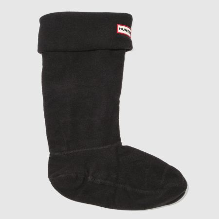 hunter fleece welly 1