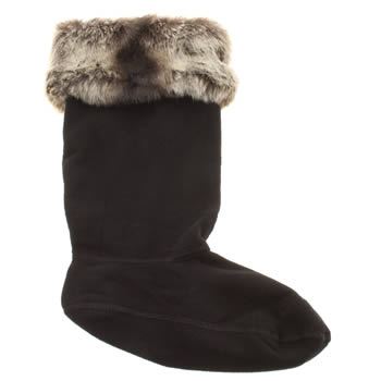 Hunter Grey Soft Furry Cuff Socks