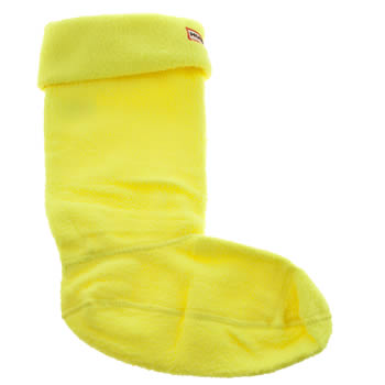 Hunter Yellow Neon Tall Welly Socks
