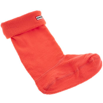 Hunter Pink Neon Tall Welly Socks