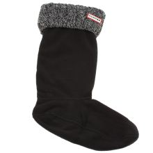 Hunter Black & Grey 6 Stitch Cable Sock Socks