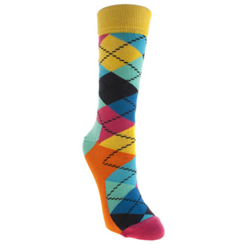 Happy Socks Multi Argyle Socks