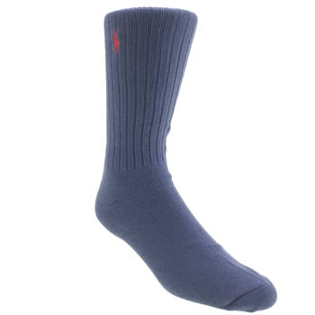 Polo Ralph Lauren Blue Casual Crew Socks