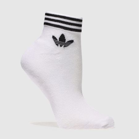 Adidas trefoil ankle sock 3 pack 1