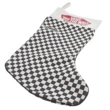Vans Black & White Checkered Stocking Accessory