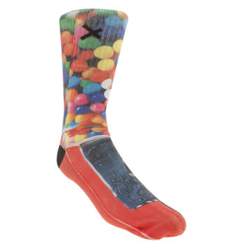 Odd Sox Red Gumballs Socks
