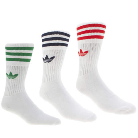 adidas solid crew 3 pack 1
