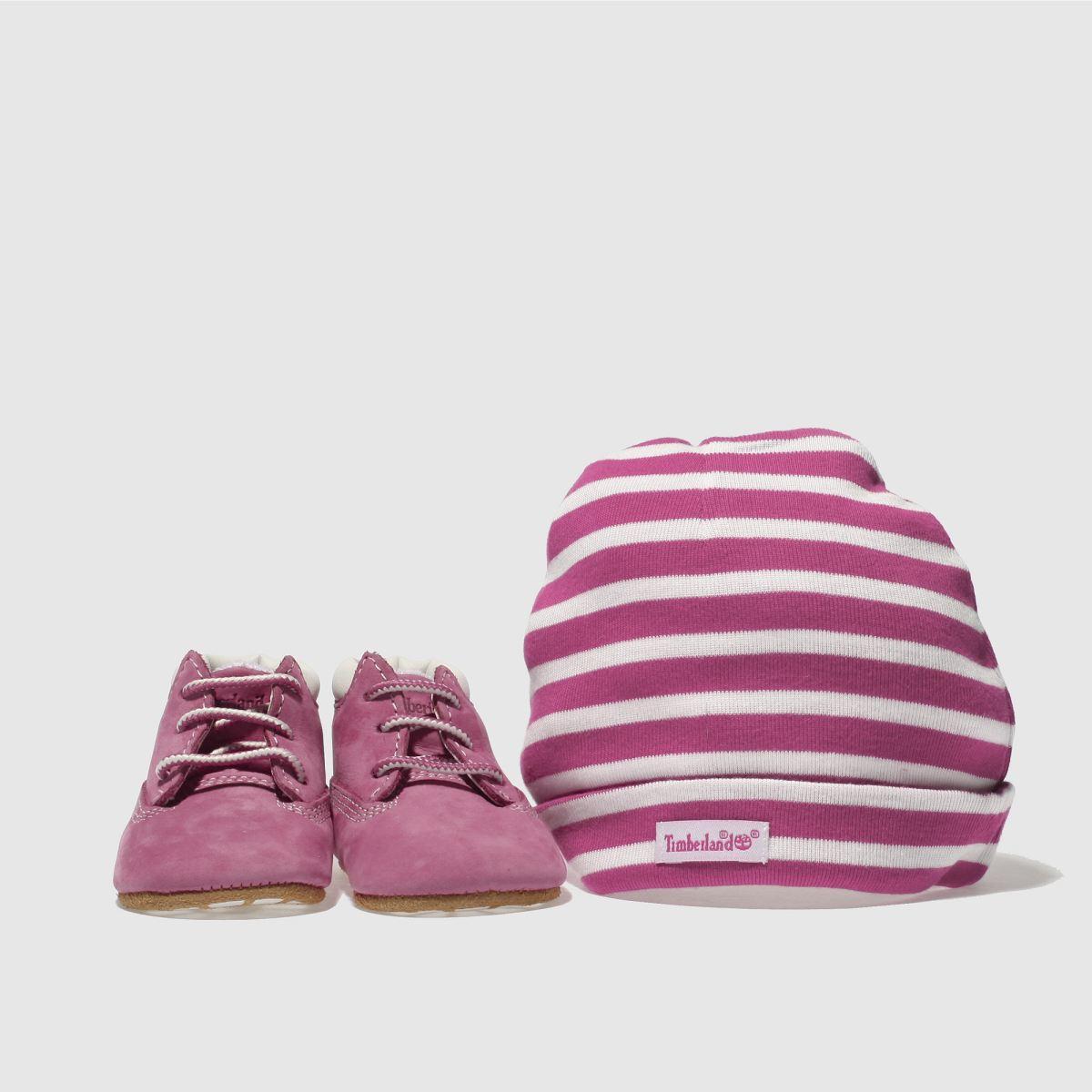 Timberland Pink Crib Bootie Girls Baby Baby