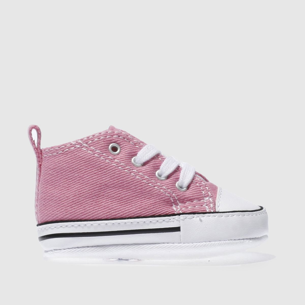 Converse Pink 1st Star Crib Shoes Baby