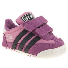 Crib Pink & Black Adidas Dragon Crib