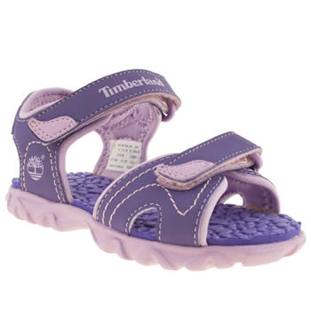 Timberland Purple Splashtown 2 Girls Baby