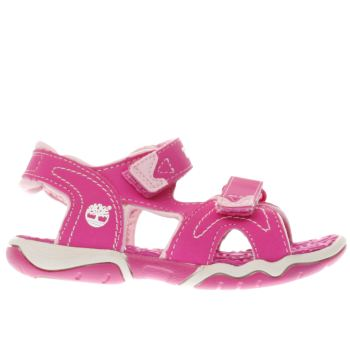 Girls Timberland Pink Adventure Seeker Girls Toddler