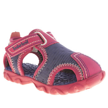 Timberland Purple Splashtown Fisherman Girls Toddler