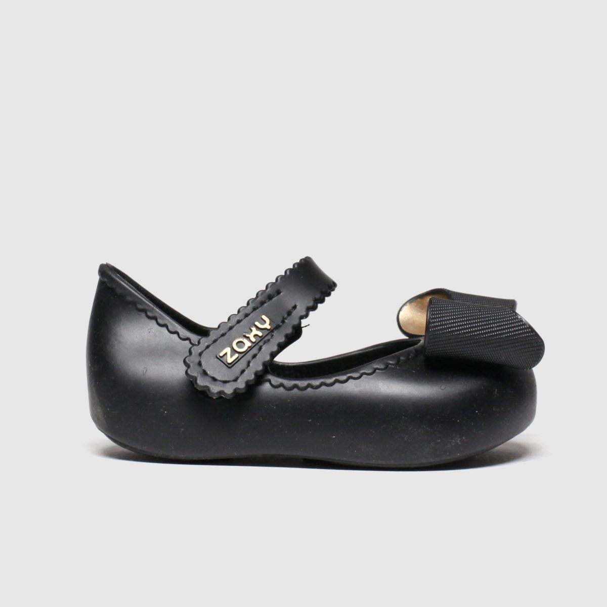 Zaxy Zaxy Black Baby Classic Bow Shoes Toddler