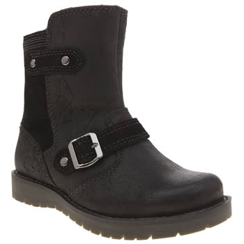 Timberland Black Kidder Hill Mid Girls Toddler