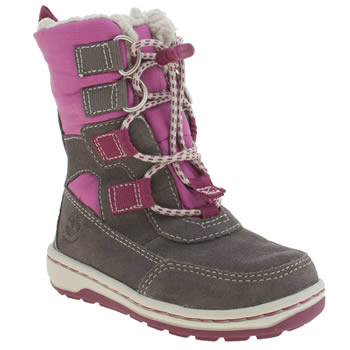 Timberland Grey Mukluk 2-0 Winterfest Girls Toddler