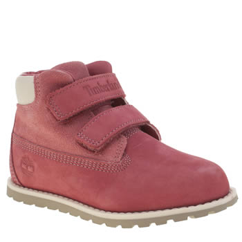 Girls Timberland Pink Pokey Pine Girls Toddler