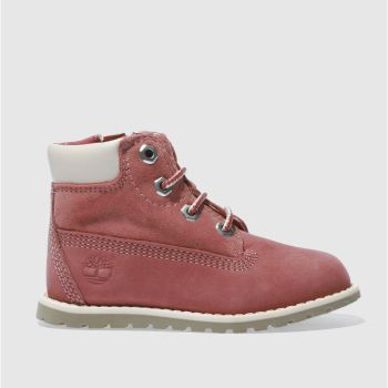 Timberland Pink POKEY PINE LACE Girls Toddler