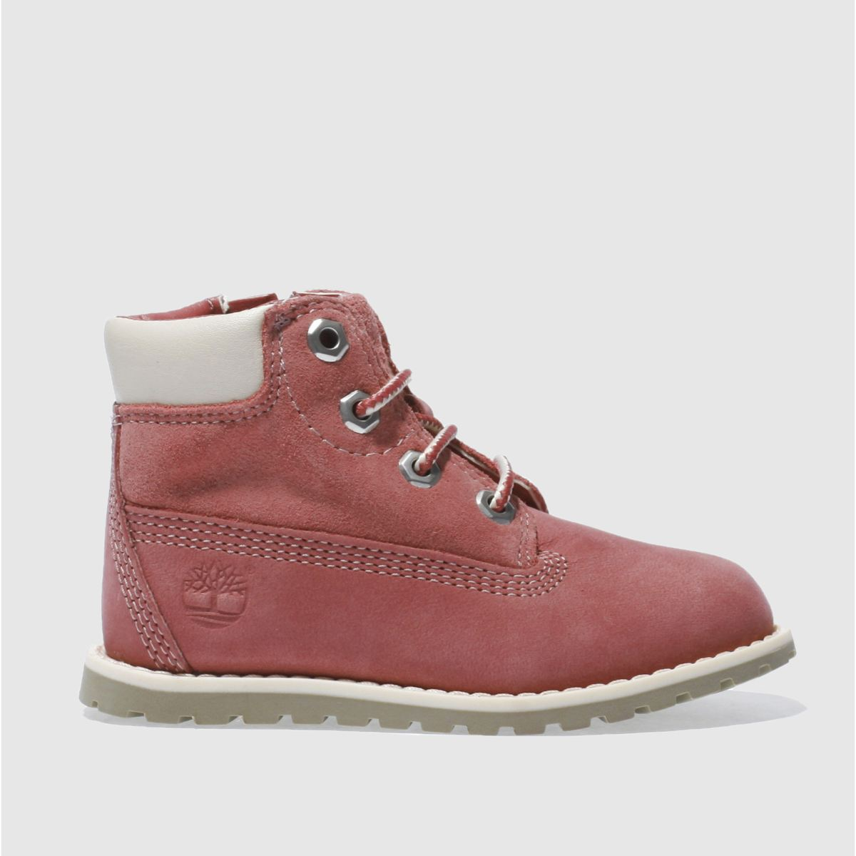 timberland pink pokey pine lace Girls Toddler Boots